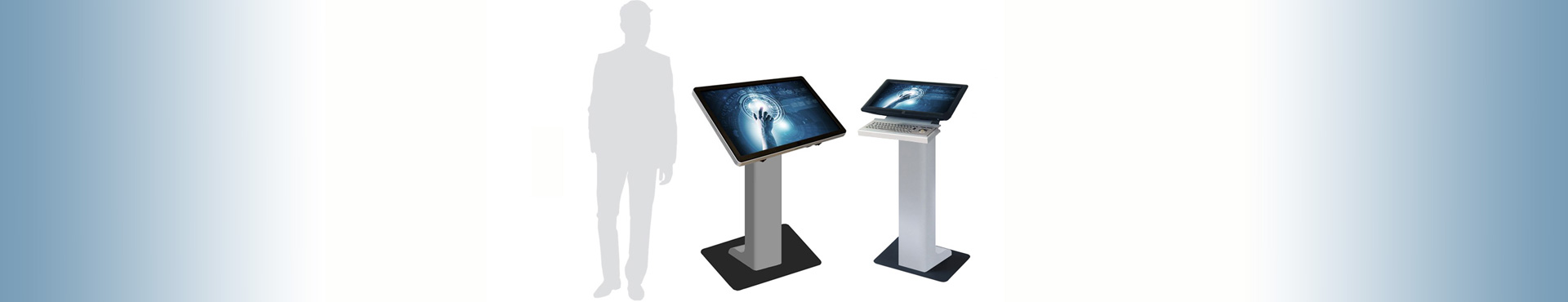 light pc stand Infoterminal